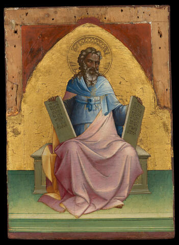 """An image of the artwork titled """"Moses"""" by Lorenzo Monaco"""