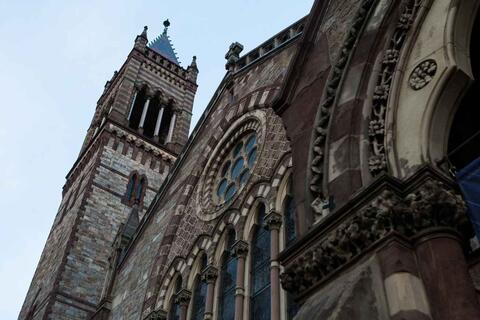 A photo of Old South Church Boston